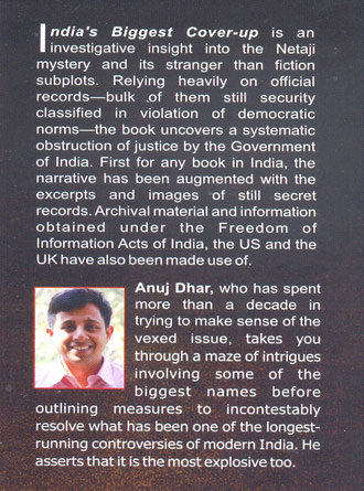 India'S Biggest Cover Up Writer Cover