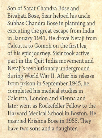 Sarat Chandra Bose Rememering My Father Mid Cover