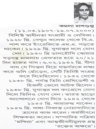 Swadhinata Sangrame Banglar Nari Writer Cover