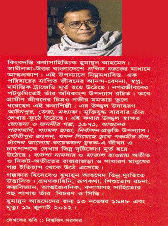 Josna O Jananeer Golpa Writer Cover
