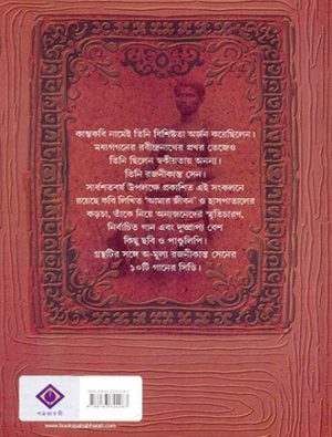 Rajanikanta With Cd Back Cover