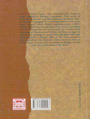 My Dear Master Rabindranath Thakur Back Cover