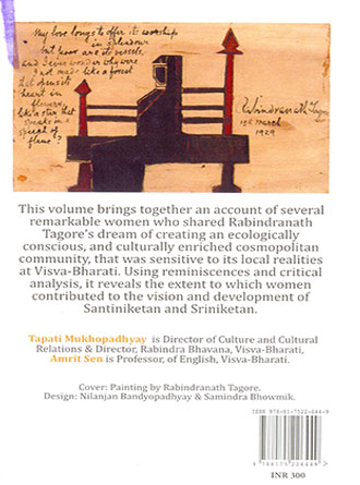 Sharing The Dream The Remarkable Women Of Shantiniketan Back Cover