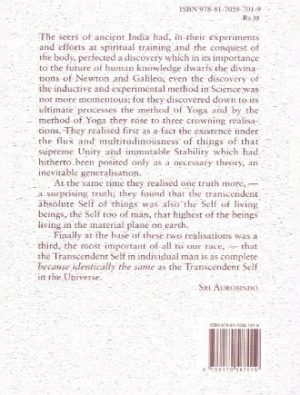 The Philosophy Of The Upanishads Back Cover