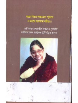 Na Hanyate By Maitreyi Debi Back Cover